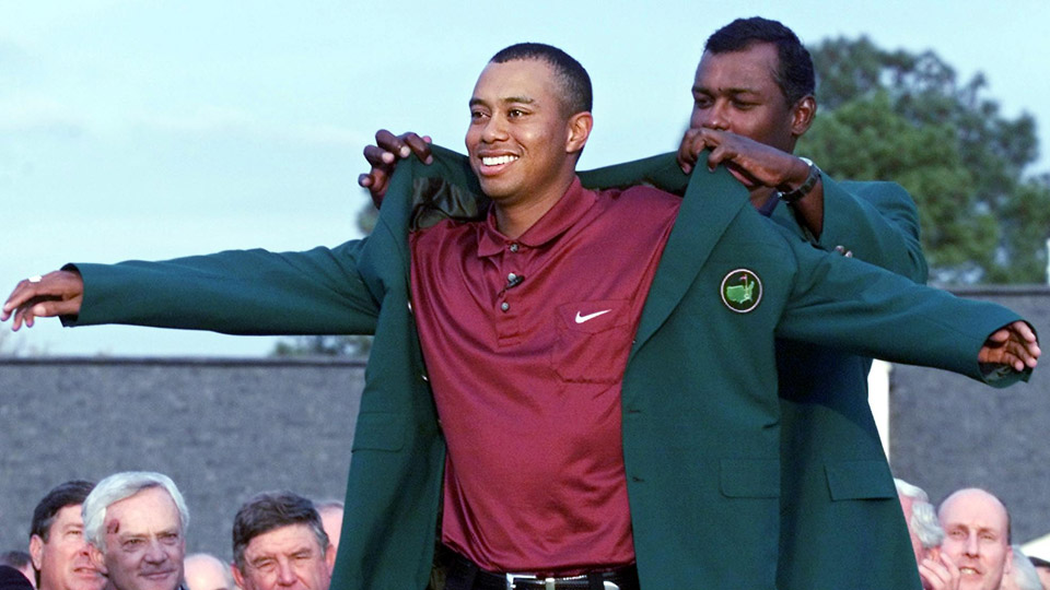 Tiger's 40 Biggest Moments: No. 6 – Completing the Tiger Slam at ...