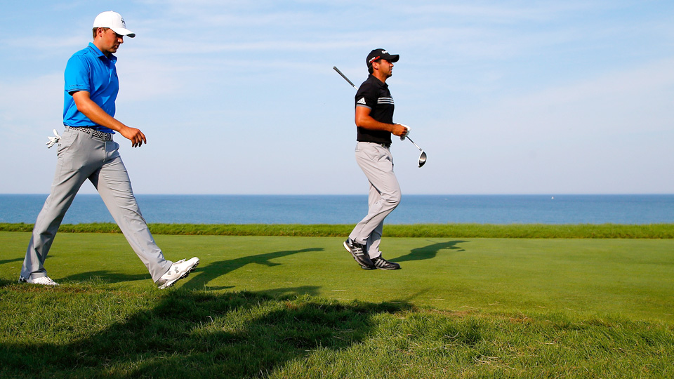 With stars like Jordan Spieth (left) and Jason Day, the PGA Tour is in good hands.