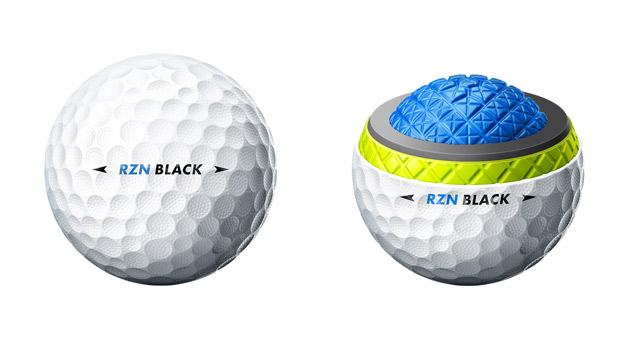 Nike RZN Tour Black Golf Ball
