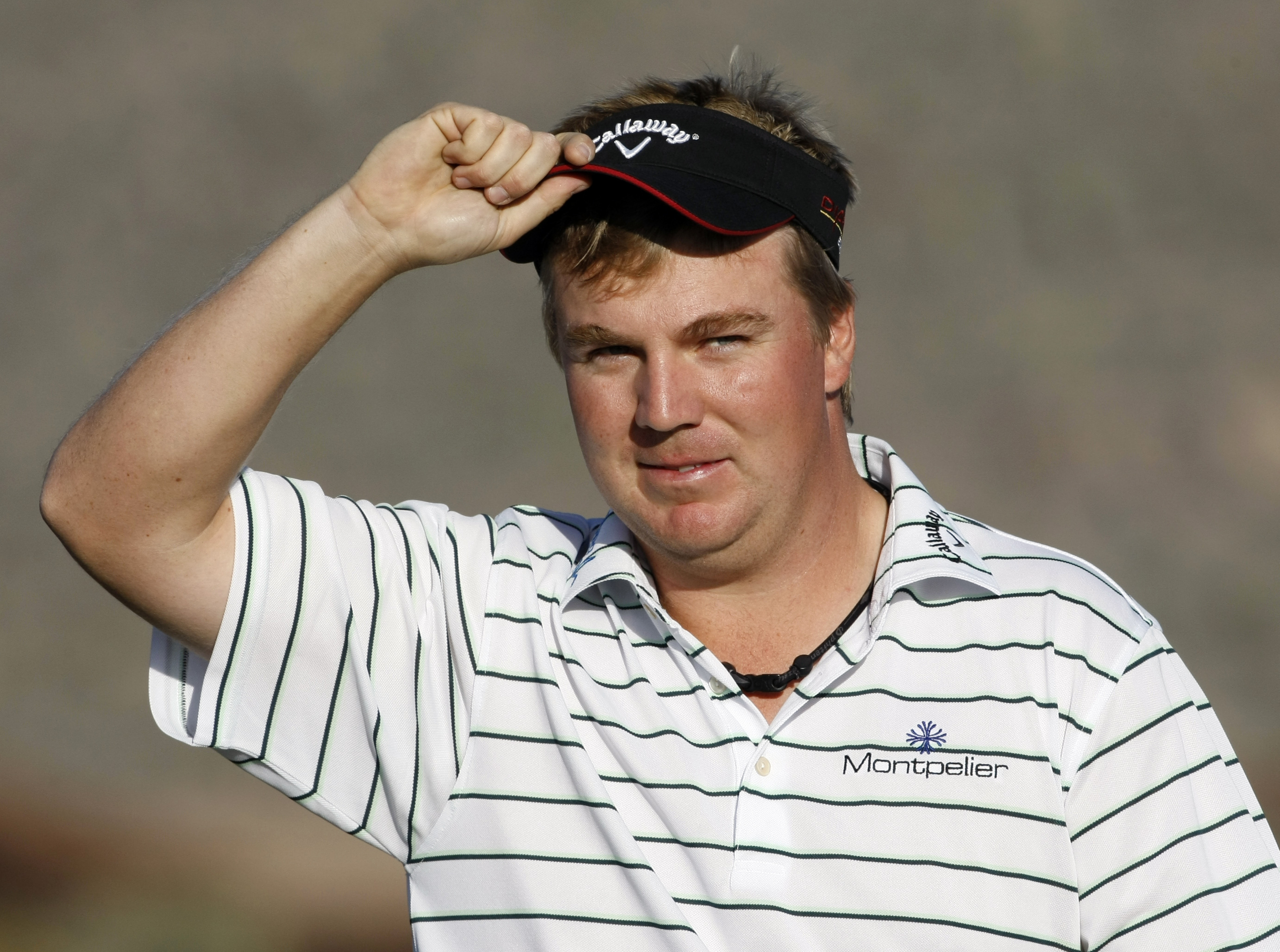 Ross McGowan during the 2010 Match Play Championship.