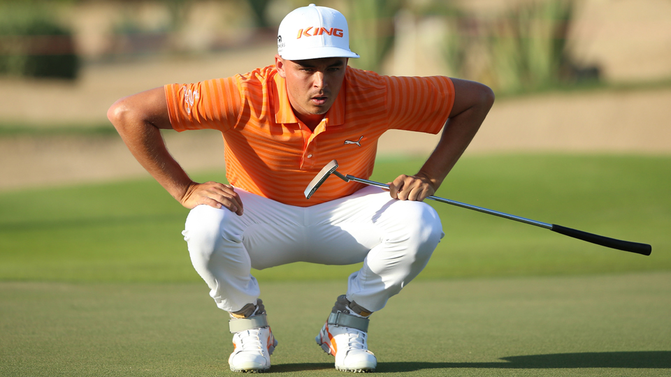 Rickie Fowler Golf Shoes Abu Dhabi
