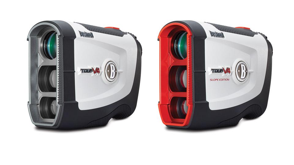 New Bushnell Tour V4 rangefinders.