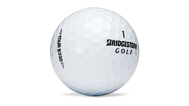 Bridgestone B330 golf ball.