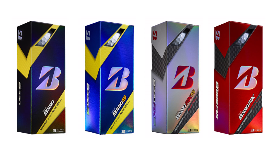 Four new Bridgestone golf balls for 2016.