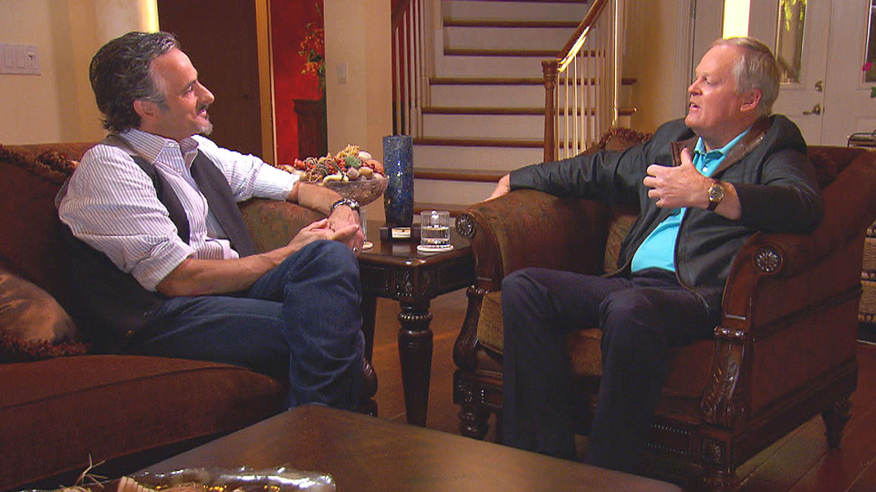 David Feherty interviews Johnny Miller on his Golf Channel show.