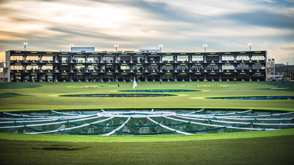 One writer decided to track his shots at a local Topgolf.