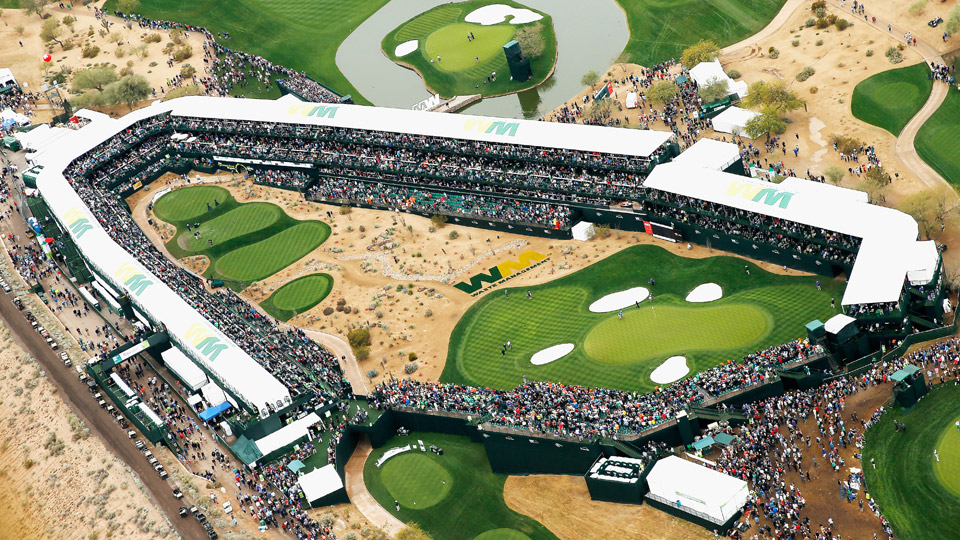 how the phoenix open became the biggest party in golf