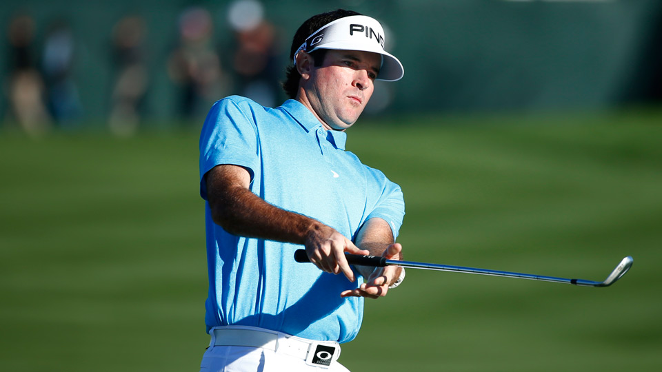 Bubba Watson was greeted with boos at TPC Scottsdale's 16th hole.