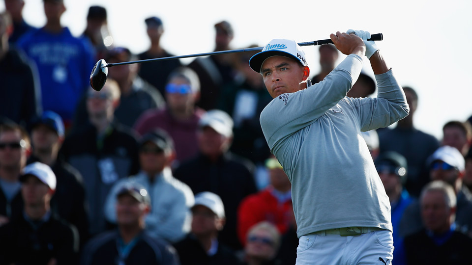Rickie Fowler shot a 65 in the first round of the 2016 Waste Management Phoenix Open.