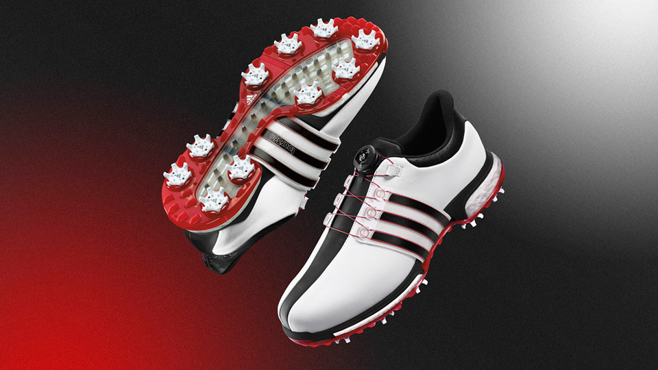 Adidas TOUR360 Boost BOA golf shoes are available at retail.