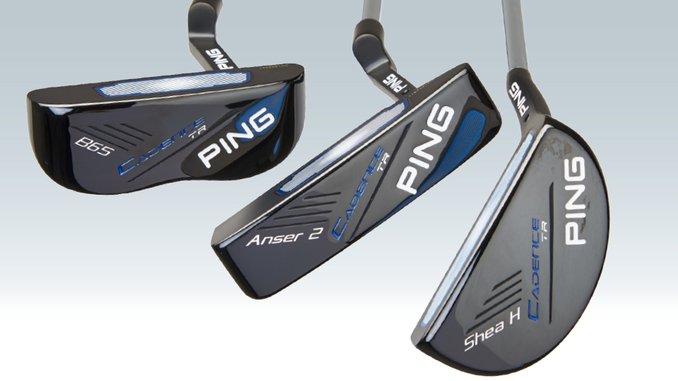 "Face-balanced putters (far left) work best with ""piston"" strokes. If you putt on an arc, a toe-weighted model works."