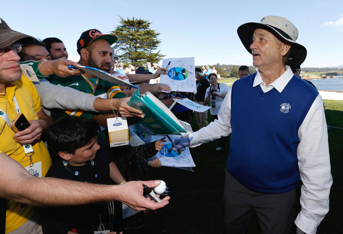Bill Murray has established himself as a mainstay at the Pebble Beach Pro-Am.