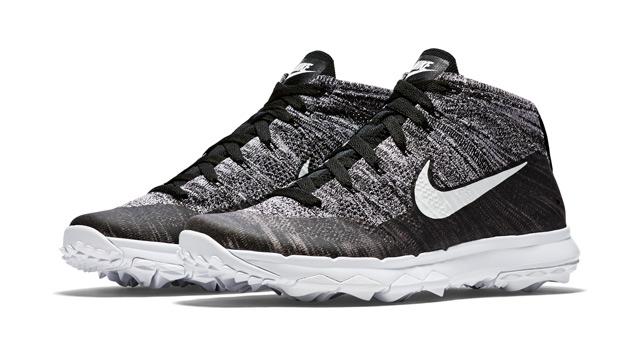 Nike FlyKnit Chukka golf shoes.