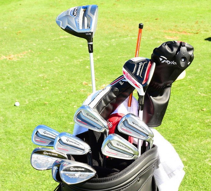 Transplanted Swede Carl Pettersson favors TaylorMade Tour Preferred irons, EF Wedges, a SLDR driver and an AeroBurner fairway wood.