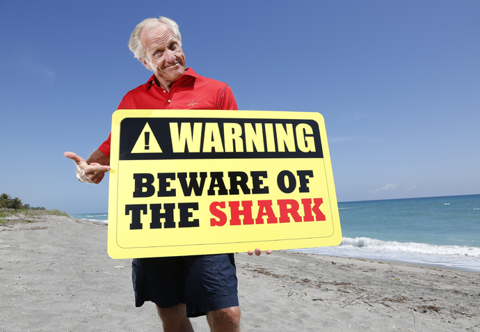 """Hurry and apply so you get a chance to be on """"Greg Norman's Shark Tank."""""""