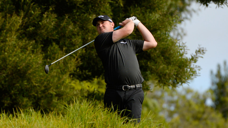 Jason Kokrak shot a 64 on Friday to take the lead at Riviera.
