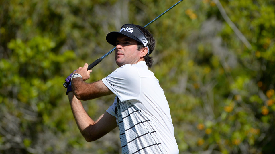 Bubba Watson shot a 67 Saturday to take the lead.