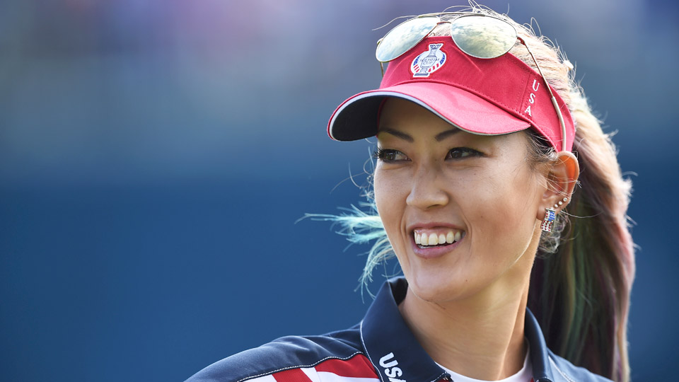 Michelle Wie helped Team USA win the 2015 Solheim Cup.