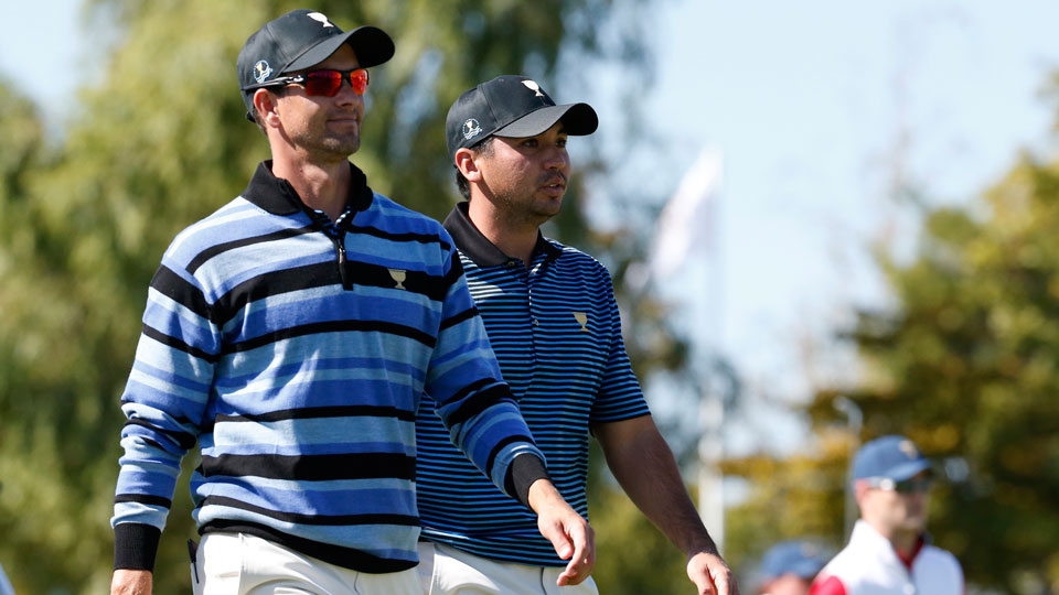 Adam Scott and Jason Day are the two leading male candidates to represent Australia at the 2016 Rio Olympics.