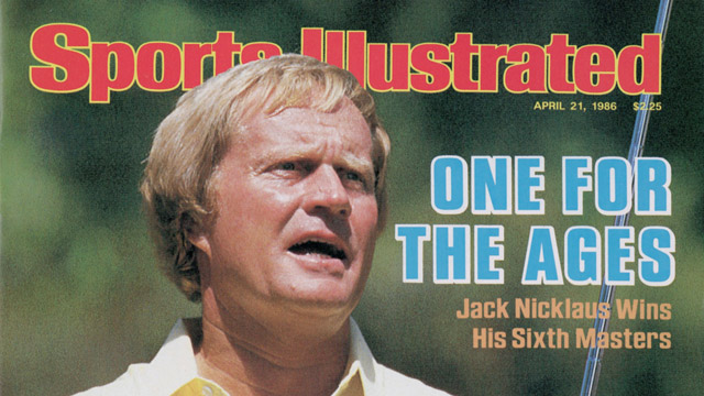 Cover of the Sports Illustrated after Nicklaus' victory.