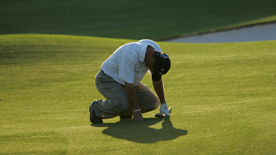 Chris DiMarco missed a tournament-clinching putt during the final round of the 2005 Masters.
