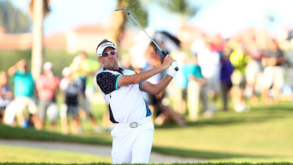 Ian Poulter during the third round of the Puerto Rico Open.