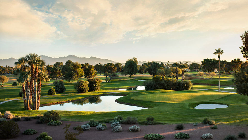 A scenic view of Wigwam's Golf course.