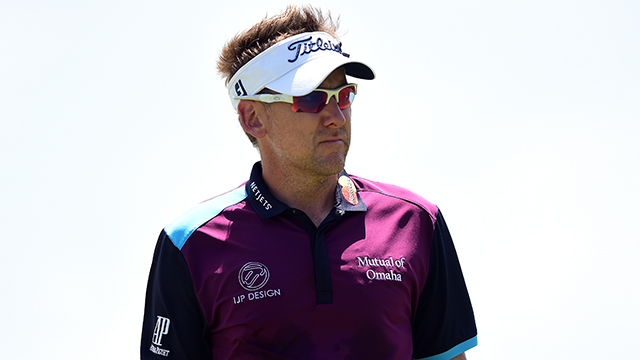 Ian Poulter has been dealing with an arthritic join in his right foot for more than two years, and it has reached the point where it is painful to walk and practice.
