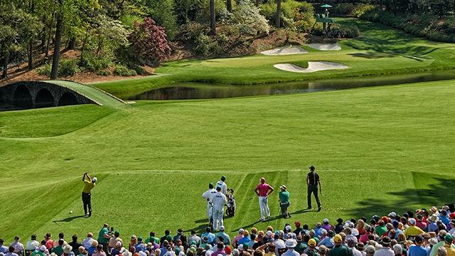 Picture the leader standing on the tee of the new 17th, wind swirling, with the tournament on the line.
