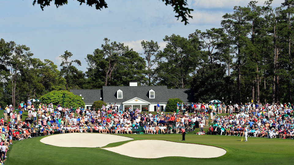 There are plenty of good spots to view the action at Augusta National.