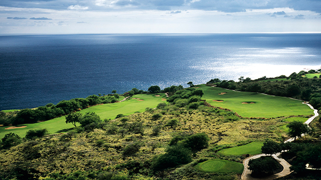 The property is home to the Jack Nicklaus-designed Manele Golf Course.