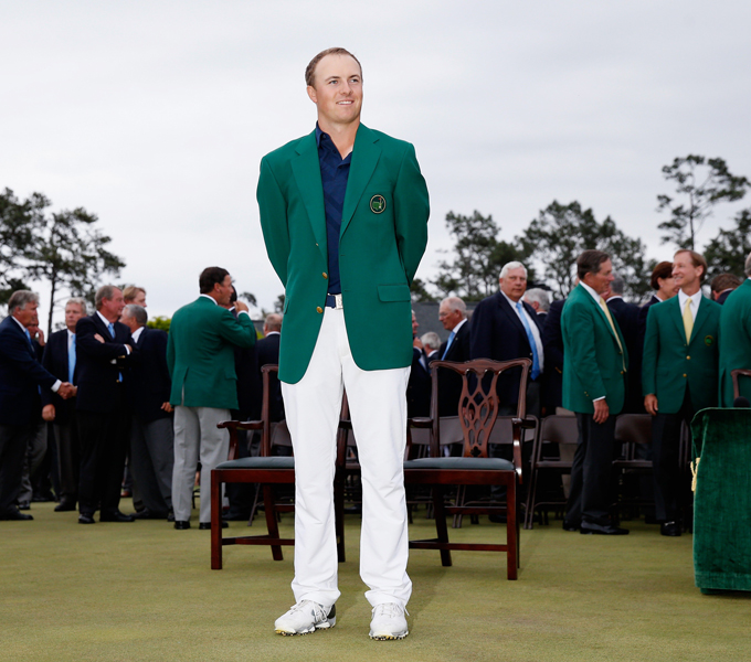 Jordan Spieth at the 2015 Masters