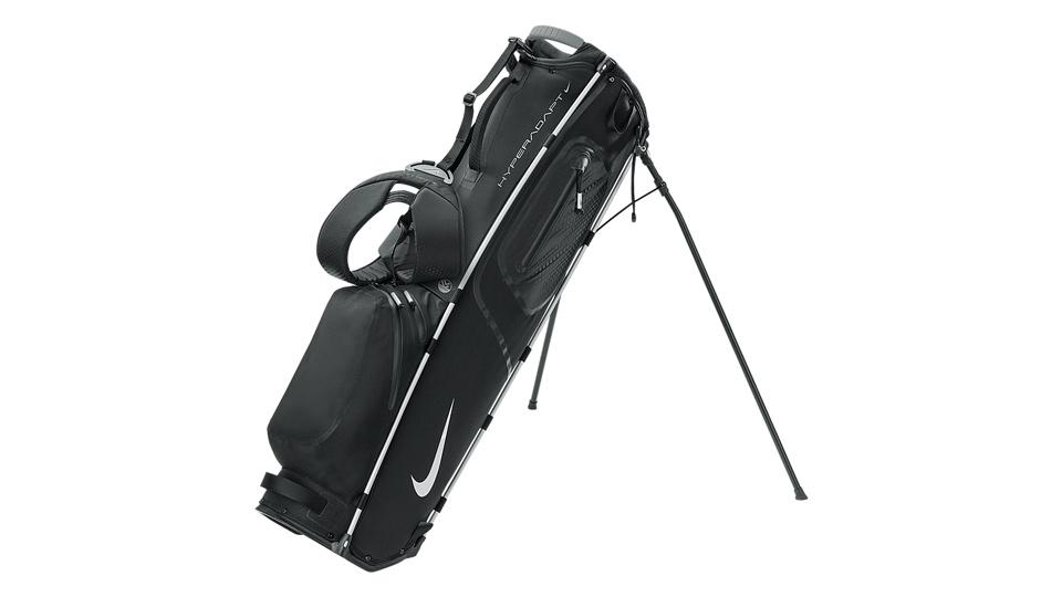 Nike HyperAdapt golf bag.