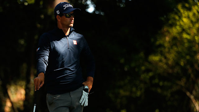 2013 Masters champ Adam Scott started out his 2016 campaign with a 76.