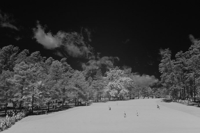 Photographer Robert Beck took some beautiful infrared photos on Thursday at Augusta.
