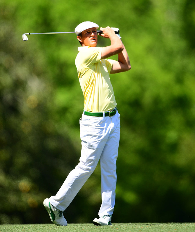 Bryson DeChambeau shot an even-par 72 on Friday.