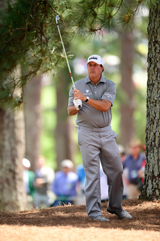 Phil Mickelson shot a 79 in round 2 and will miss the cut.