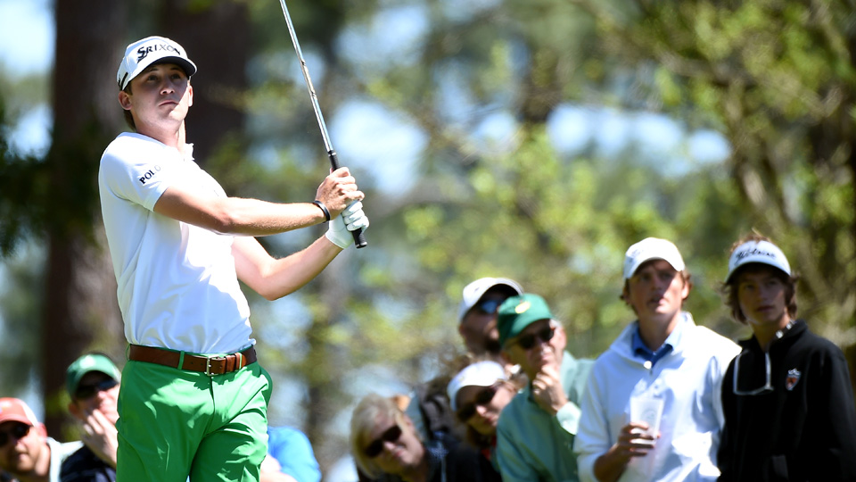 Smylie Kaufman, pictured here during the 2016 Masters.