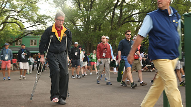 Brazell is attending his 14th Masters.