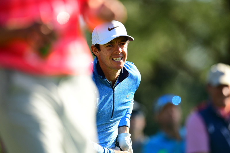 Rory McIlroy during the final round.