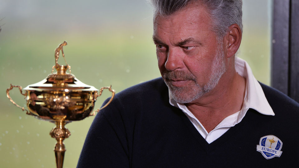 Darren Clarke will captain the European Ryder Cup team this fall.