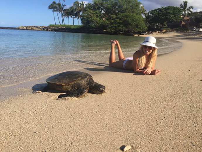 Excited to go back to Ko Olina and play in next weeks @LPGA event. Stats on Wednesday. Hope to see the turtles too