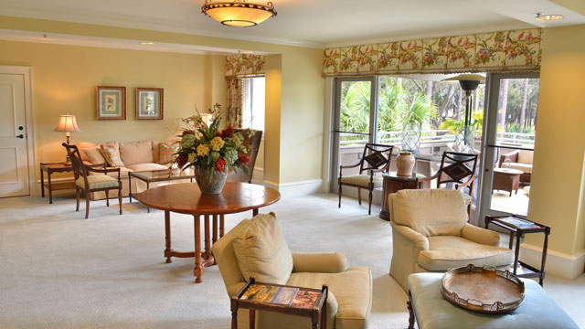 The Highlander Suite measures more than 2,000 square feet.
