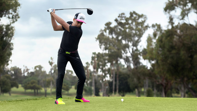 Rickie Fowler will wear the new Tricks golf shoes at the Players Championship in May.