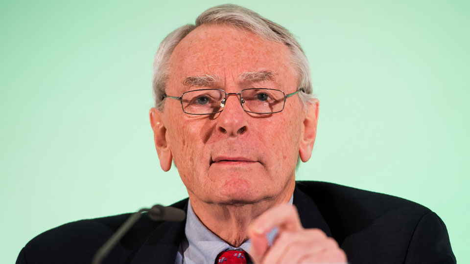 Dick Pound is a former president of the World Anti-Doping Agency.