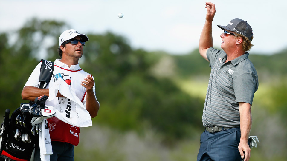 Charley Hoffman on Sunday at the 2016 Valero Texas Open.