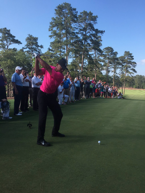 Tiger Woods Officially Opens Bluejack National