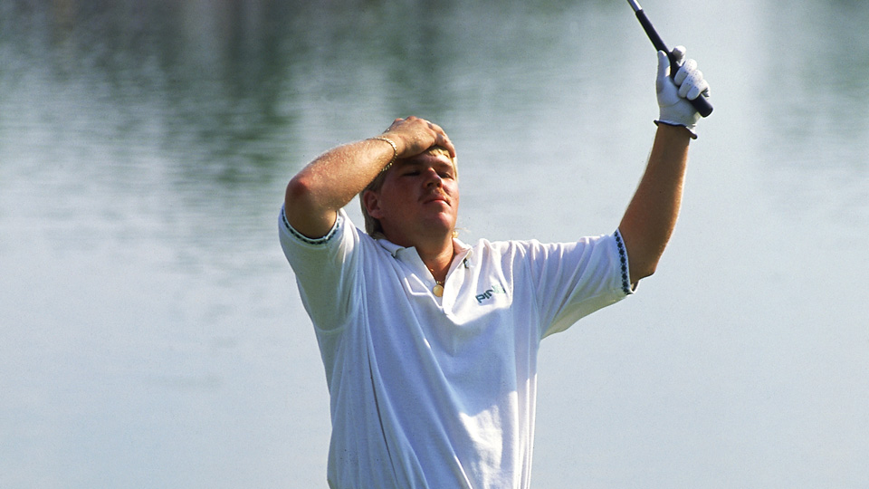 John Daly wins the 1991 PGA Championship at Crooked Stick in Carmel, Indiana.