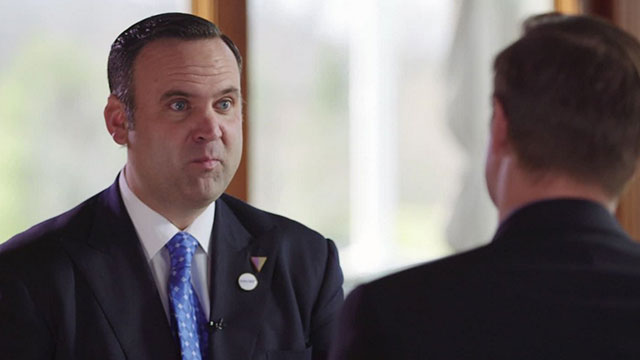 Daniel Scavino serves as social media director for the Trump campaign.