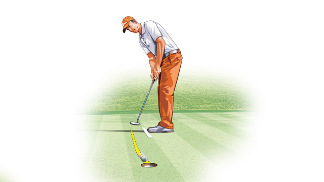 Forget mechanics when you're over a putt. Let your instincts pick a line that feels comfortable, and then just let it go.